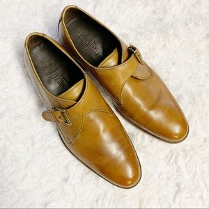 Cole Haan Air Madison Monk strap leather oxfords